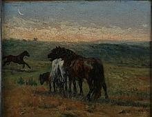 Giuseppe Raggio Chiavari 1823 - Roma 1916 Cavalli
