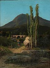 Alessandro La Volpe Lucera 1820 - Roma 1887 Monte