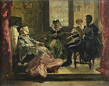 Domenico Morelli Napoli 1826 - 1901 Torquato Tasso