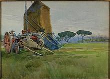 Amedeo Momo Simonetti Roma 1874 - 1922 Barrozzi a