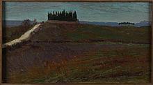 Carlo Ferrari Bergamo 1861 - Roma 1951 Cimitero a