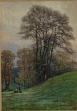 Cesare Bertolla Lucca 1845 - Roma 1920 Scorcio di