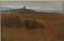 Filippo Anivitti Roma 1876 - 1955 Appia antica e