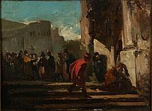 Domenico Morelli ( attrib.) Napoli 1826 - 1901