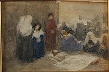 Domenico Morelli ( attrib. ) Napoli 1826 - 1911