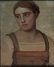 Nino Costa ( attribuito ) Roma 1826 - 1903 Giovane