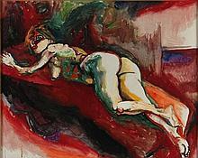 RENATO GUTTUSO Bagheria 1912 - Roma 1987 Nudo,
