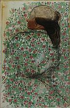 PIERO GUCCIONE Scicli 1935 Ritratto della Signora