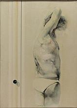 RENZO VESPIGNANI Roma 1924 - 2000 Nello specchio -