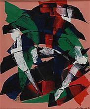 LUIGI MONTANARINI Firenze 1906 - 1998 Astratto,