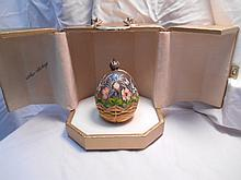 Faberge St. Petersburg Collection Summer Egg w/original box
