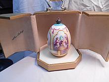 Faberge St. Petersburg Collection Phoenix Egg w/original box