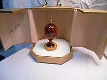 Faberge St. Petersburg Collection Scribe Egg w/original box