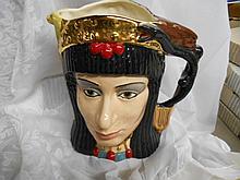 Royal Doulton Toby Mug  Anthony & Cleopatra