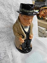 Royal Doulton Toby Mug Winston Churchill