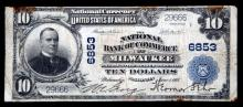 NATIONAL CURRENCY MILWAUKEE WI LARGE SIZE $10