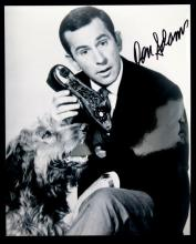 SIGNED BLACK & WHITE PHOTO DON ADAMS