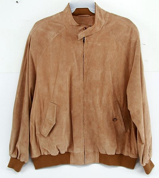 0RVIS SUEDE LEATHER MENS JACKET XXL NEW