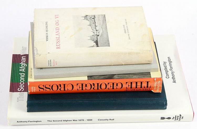 DEALER'S MIXED LOT OF 5 BOOKS
