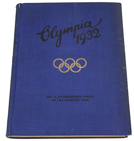 1932 LOS ANGELES OLYMPICS GERMAN CIGARETTE CARDS