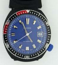RECORD BY LONGINES MEN'S DIVER WATCH W/ DATE SWISS