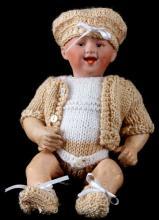 GEBRUDER HEUBACH BISQUE BABY DOLL