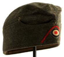 WWII THIRD REICH GERMAN ARTILLERY OVERSEAS CAP