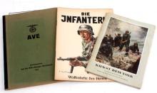 WWII GERMAN THIRD REICH MAGAZINES AND BOOKS