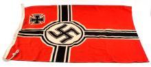 WWII THIRD REICH GERMAN BATTLE FLAG