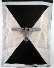 WWII THIRD REICH GERMAN NSDAP BANNER