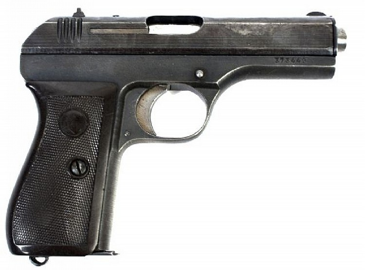 WWII CZ GERMAN ISSUED MODEL 27 PISTOL