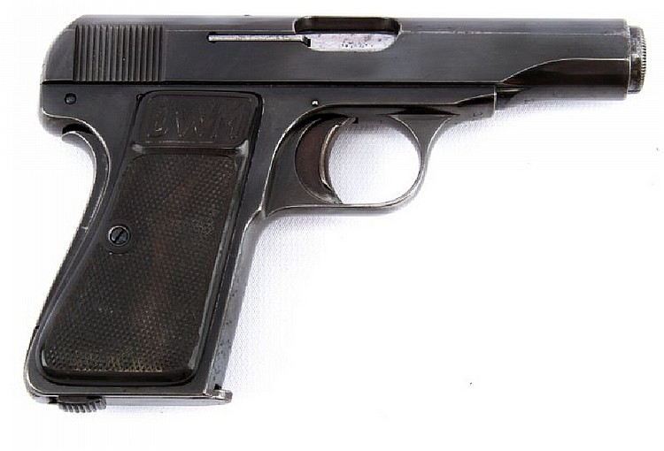 DWM MODEL 22 POCKET PISTOL 7.65MM
