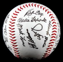 1992 ATLANTA BRAVES TEAM SIGNED BALL