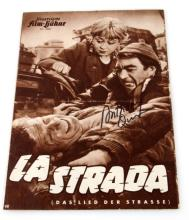AUTOGRAPHED MOVIE FLYER LASTRADA 1954