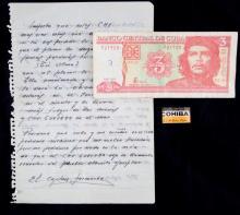 CUBA REVOLUTIONARY POETRY MANUSCRIPT VINTAGE
