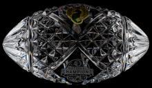 2013 NATIONAL CHAMPS FSU WATERFORD CRYSTAL FOOTBAL