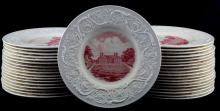74 STRATFORD HALL WEDGEWOOD COLLECTOR'S PLATES