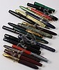 20 FOUNTAIN PENS AND STYLOGRAPHIC PENS 1930S-1970S