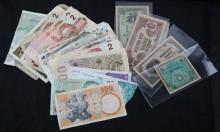39 WORLD BANK CURRENCY NOTE LOT CIRCULATED