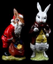 LOT OF TWO RETIRED ROYAL DOULTON BUNNYKINS BESWICK