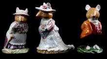ROYAL DOULTON BRAMBLY HEDGE LOT OF FOUR