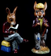 LOT OF TWO ROYAL DOULTON BUNNYKINS FIGURINES