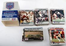 SUPER BOWL 25 LIMITED EDITION 160 FOOTBALL CARD SE