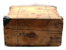 KOREAN WAR UNOPENED BOX OF MKV GAS MASK CANNISTERS
