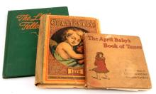 GROUPING OF 3 ANTIQUE COLORED CHILDREN'S BOOKS