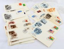 72 UNITED NATIONS 1980S FIRST DAY OF ISSUE COVERS