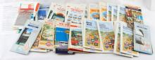 VINTAGE STATE ROAD MAPS AAA GULF EXXON ESSO SUNOCO