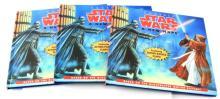 1995 STAR WARS BOOK LOT OF 3 A  NEW HOPE HARDBACK
