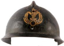 M16 ITLIAN LIPPMANN HELMET BLACKSHIRTS INSIGNIA