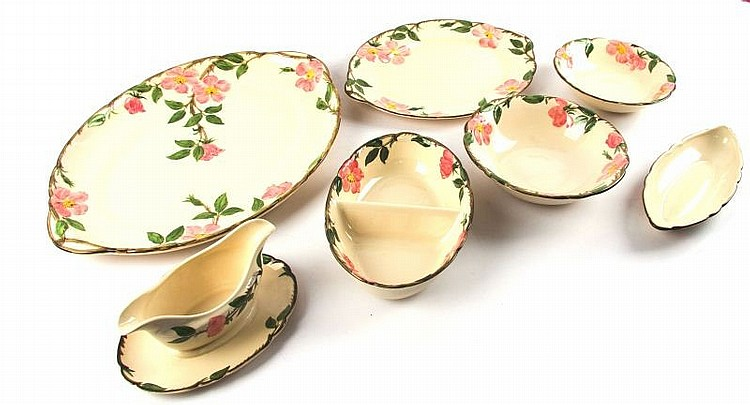 FRANCISCAN DESERT ROSE CALIFORNIA SERVING SET